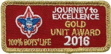 2016 Journey To Excellence Gold Award