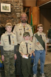 Troop 27's newest member