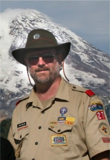 Troop 27 Scoutmaster John Ohlson