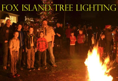 Fox Island Tree Lighting Ceremony