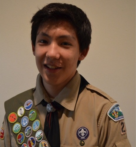 Eagle Scout Nathan David
