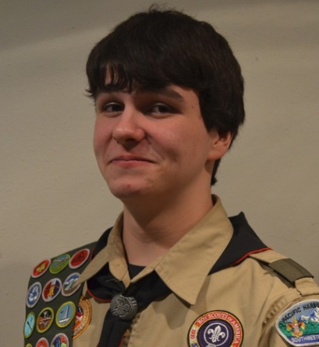 Read more: Eagle Scout Colin Wilson
