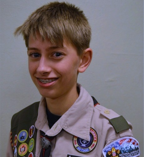Read more: Eagle Scout Cameron Allen