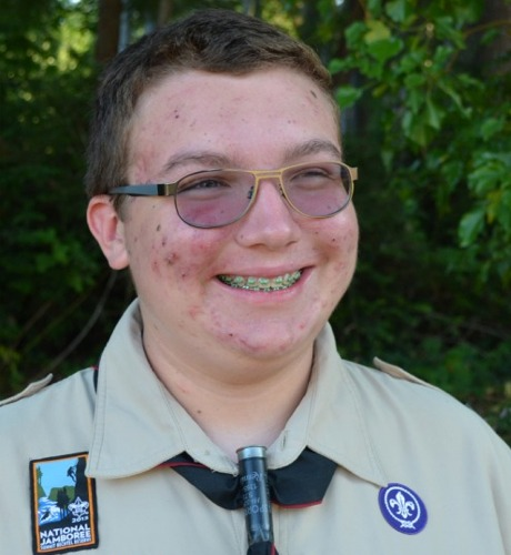Eagle Scout Colin Rivera