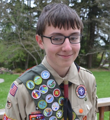 Eagle Scout Ian Nation