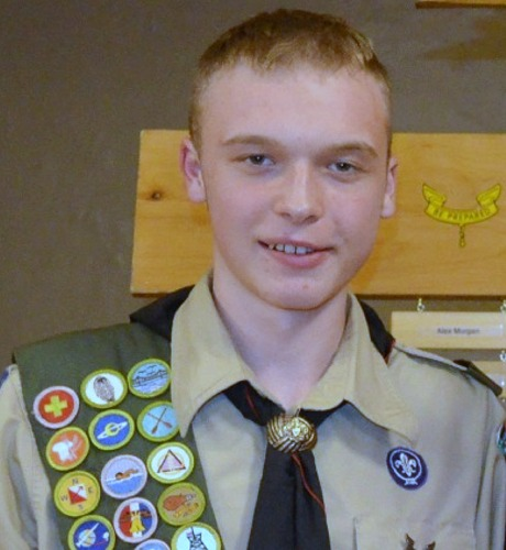 Eagle Scout Nate Waltz